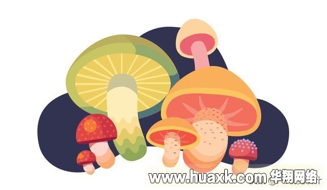 PS绘制可爱的噪点蘑菇插画教程!
